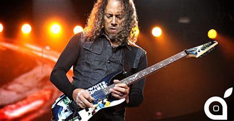 il chitarrista dei metallica kirk hammett perde iphone