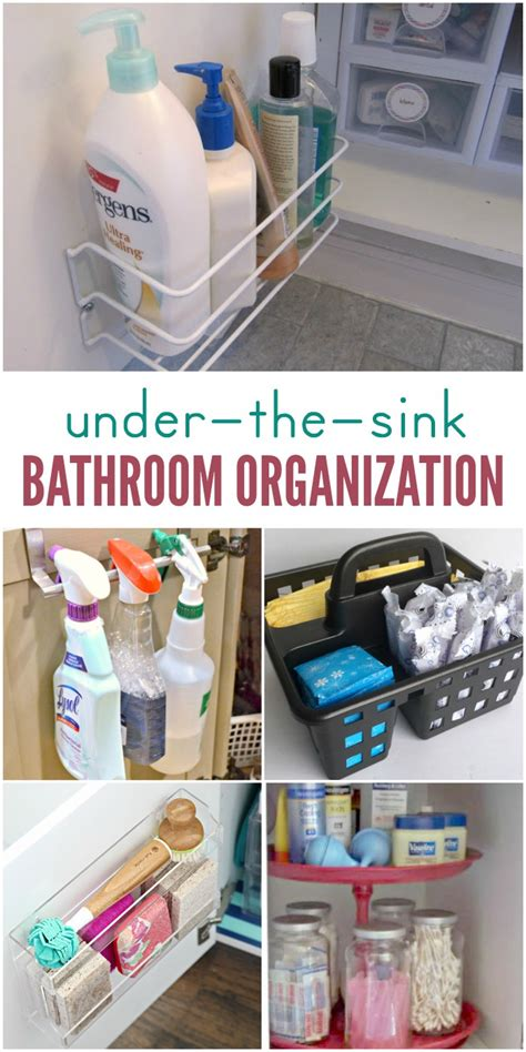 bathroom sink organization ideas 15 ways to organize the bathroom sink