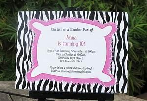 New Years Invitation Templates Free Free Printable Slumber Party Invitation Templates