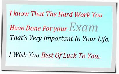 Exam Wishes Quotes Examination Luck Sms Exams