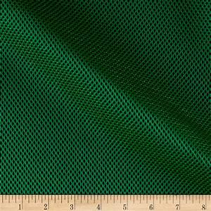 Spacer Mesh Kelly Green - Discount Designer Fabric ...
