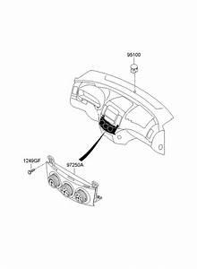 Hyundai Elantra Hvac Temperature Control Panel  Sedan  W