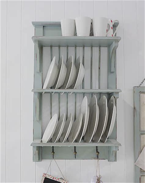 wooden plate rack uk vintage blue rustic wall plate rack  hooks