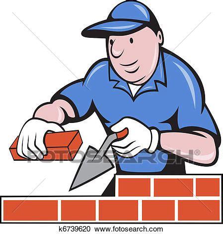 clipart muratore galleria di illustrazioni muratore muratore lavoro