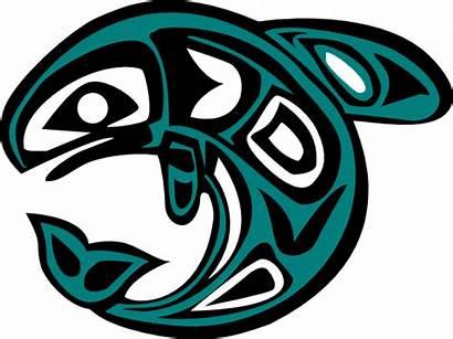 Native Salmon Clip Clipart Clker