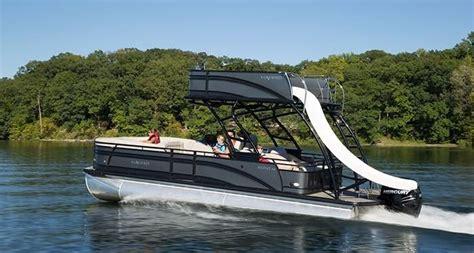deck pontoon boat with slide 2016 harris pontoons solstice rd 260 power boat for sale