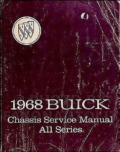 1968 Buick Wiring Diagram Manual Reprint Special  Gran