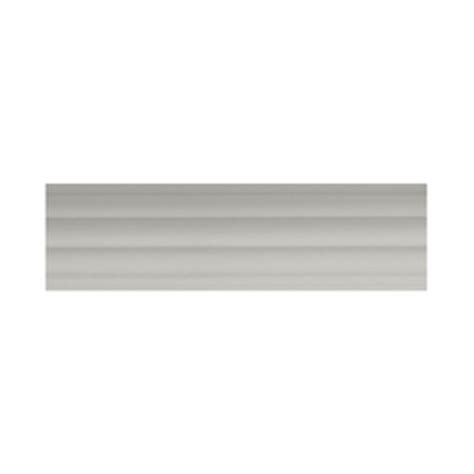 shop allen roth white wood single curtain rod at lowes
