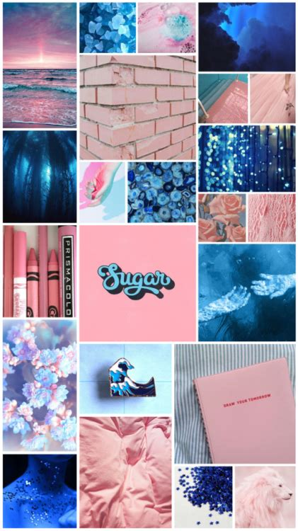 royal blue aesthetic tumblr