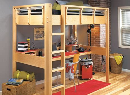 space saving loft bed woodsmith plans