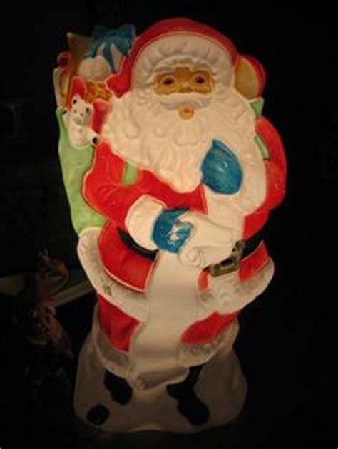 vintage christmas blow molds  pinterest vintage