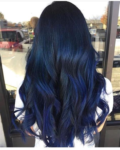 Image Result For Blue Semi Permanent Hair Dye Over Brown
