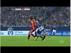 James Rodriguez scores his first Bayern goal vs Schalk
