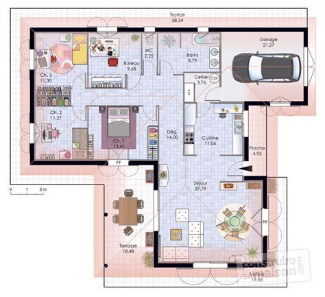 faire ses plans de cuisine maison de plain pied 1 dé du plan de maison de plain