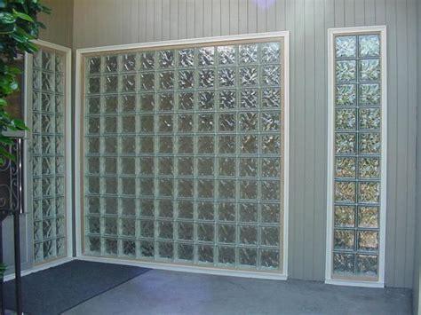 glass blocks adding sparkling accents  modern home designs