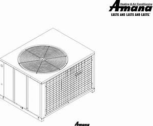 Download Amana Electric Heater Package Heat Pump Manual
