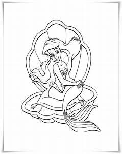 Ausmalbilder Zum Ausdrucken Ausmalbilder Meerjungfrau