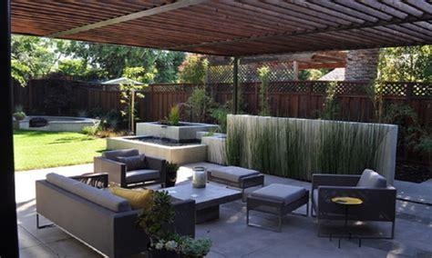 Terrasse Gestalten Ideen by Modern Patio Design Back Yard Concrete Patio Ideas Modern