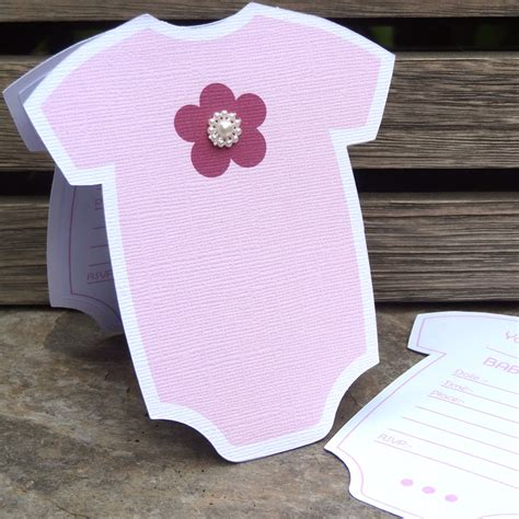 baby week onesie shower invitations pazzles craft room