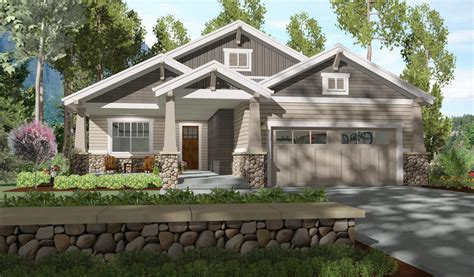 bed bungalow  rear covered patio sc architectural designs house plans