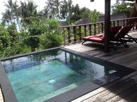 terrasse mit pool terrasse mit plunge pool bild kupu kupu phangan