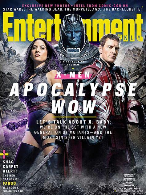 'xmen Apocalypse' Characters Revealed In Latest Magazine