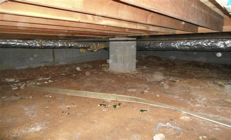 Insulating Crawl Space With Dirt Floor by What Do You About Your Crawl Space Solvit Home