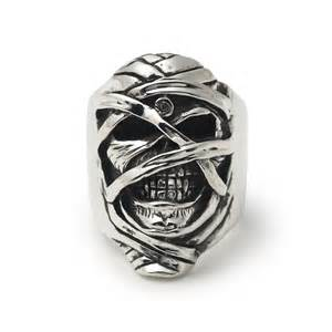 jewellery designer london iron maiden powerslave eddie ring the great frog