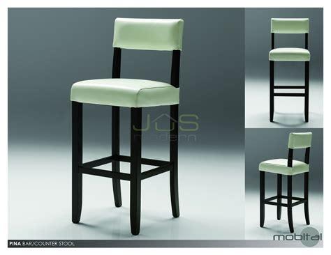 dining room stools pina counter bar stool leather wood back copy decobizz com