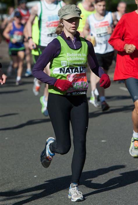 natalie dormer marathon natalie dormer completes the marathon the hunger