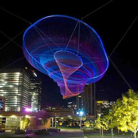 Light Rail Tempe by Civic Space Park Phoenix Az Sunset