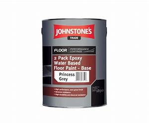 2 pack epoxy water based floor paint johnstone39s trade With two pack epoxy floor paint