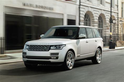 2018 Range Rover Long Wheelbase Debuting At 2018 La Auto