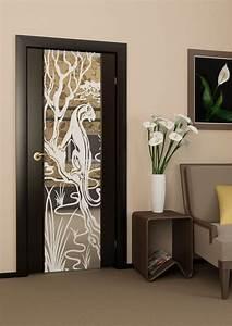 Decoration De Porte Interieur : deco mur interieur maison 7 porte design en bois avec ~ Dailycaller-alerts.com Idées de Décoration
