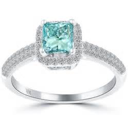 slice engagement ring princess cut blue rings princess cut blue engagement rings engagement rings