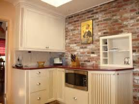 kitchen backsplashs kitchen brick backsplashes for warm and inviting cooking