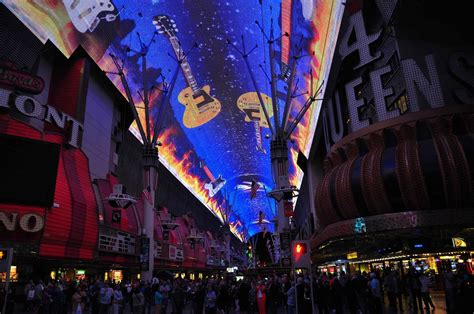 old las vegas light show nikon sniper downtown las vegas light show