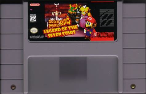 Super Mario Rpg Legend Of The Seven Stars 1996 Snes Box