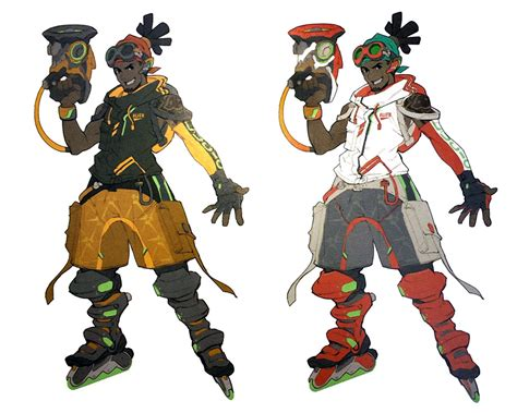 lucio early concept characters art overwatch