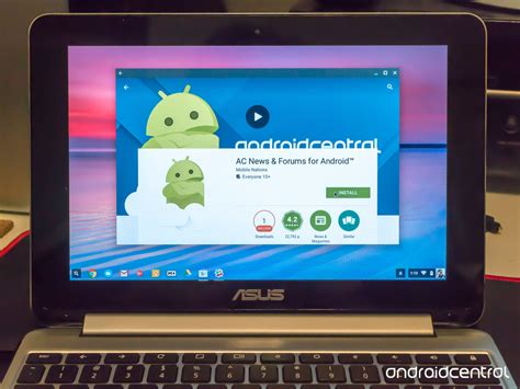 my apps android can i use apps on my chromebook android central