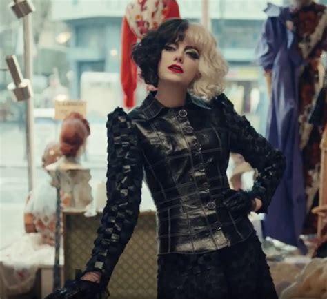 Emma Stone: primeras imágenes convertida en Cruella de Vil ...