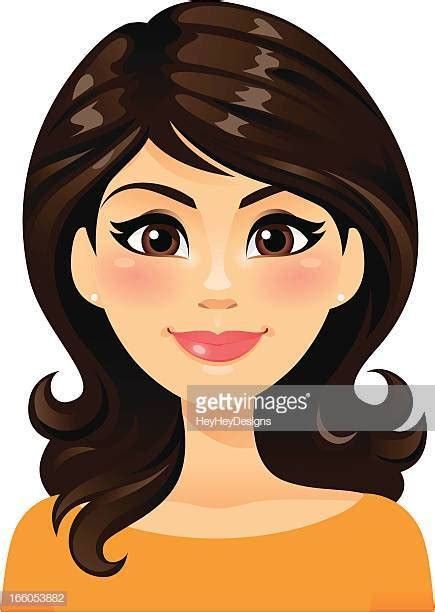 worlds  brown hair stock illustrations getty images