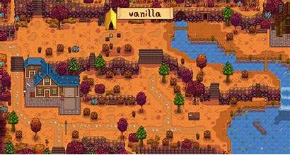 Stardew Valley Mods Earthy Recolour Comparison Animated