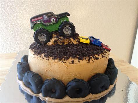 monster truck birthday cake cakes baking pinterest