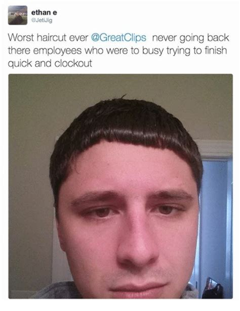 Meme Video Clips - ethane worst haircut ever never going back there employees who were to busy trying to finish