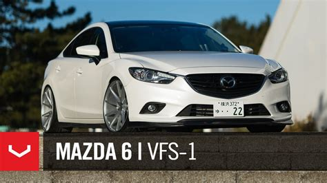"Mazda 6 ""Atenza""   Mt Fuji   Vossen 20"" VFS1 (4K)   YouTube"