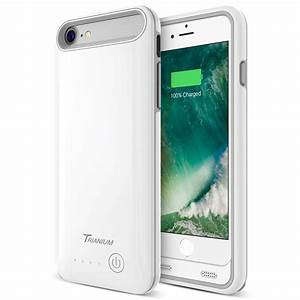 Atomic Pro Battery Case For Iphone 7  U2013 White  Grey