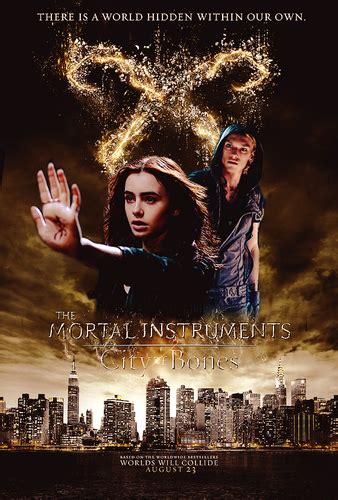 Mortal Instruments images My City Of Bones fanmade poster ...