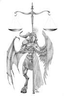 Balance between good and evil | Good, evil tattoos, Sketches, Tattoo designs