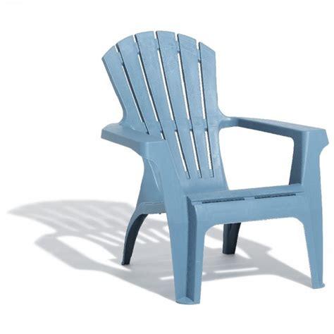 Fauteuil De Jardin Relax Empilable Bleu Orage Transat